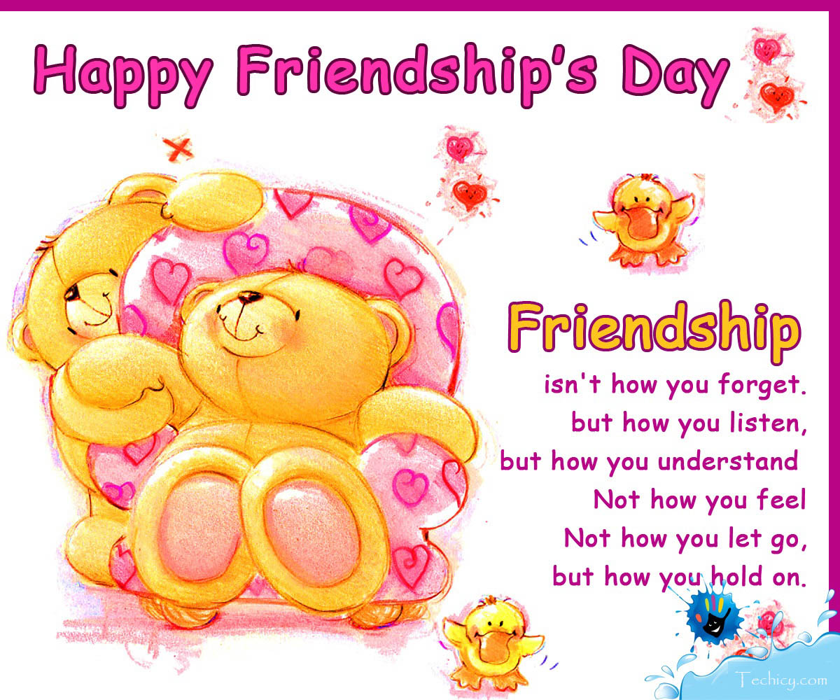 Latest Friendship Day Image With Quote Messages Hd Wallpapers